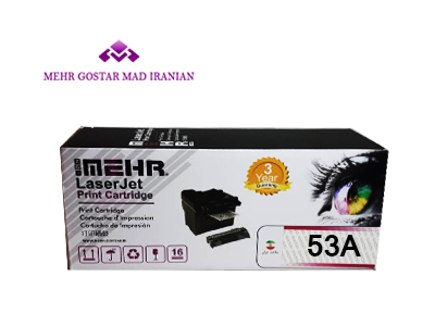 cms cartridge 53A - کارتریج تونر مشکی اچ پی  HP Toner 53A