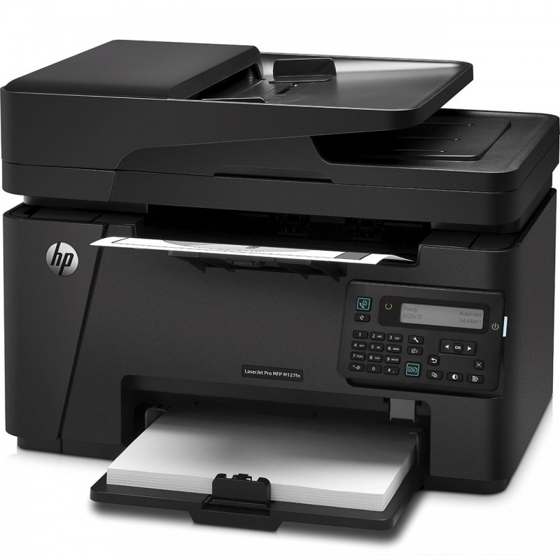 پرینتر لیزری چندکاره اچ پی مدل LaserJet Pro MFP M127fs HP LaserJet Pro MFP M127fs Multifunction Laser Printer