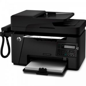 پرینتر لیزری چندکاره اچ پی همراه باگوشی مدل LaserJet Pro MFP M127fs HP LaserJet Pro MFP M127fs Multifunction Laserjet Printer wi