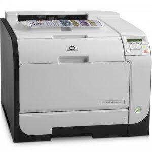پرینتر رنگی لیزری اچ پی مدل LaserJet Pro 400 M451nw HP LaserJet Pro 400 M451nw Color Laser Printer
