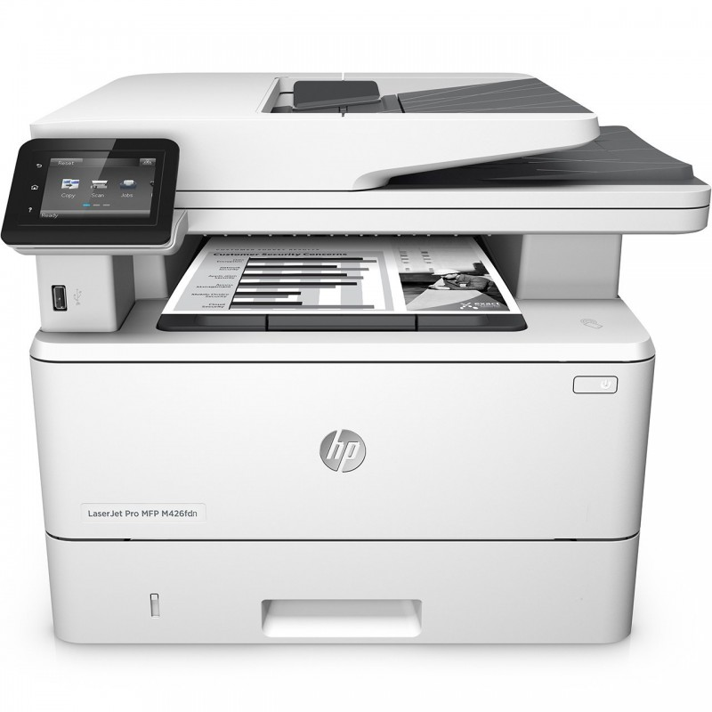 پرینتر چندکاره لیزری اچ پی مدل HP LaserJet Pro MFP M426fdn HP LaserJet Pro MFP M426fdn Multifunction Laser Printer