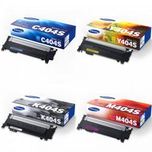 پک 4 رنگ کارتریج تونر سامسونگ مدل CLT-404S Samsung CLT-404S Toner Pack