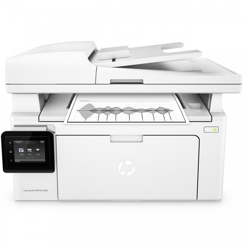 پرینتر چندکاره لیزری اچ پی مدل LaserJet Pro MFP M130fw HP LaserJet Pro MFP M130fw Multifunction Laser Printer
