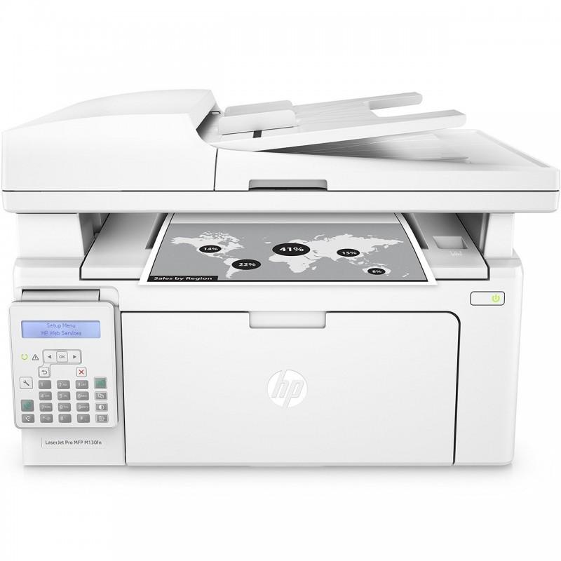 پرینتر چندکاره لیزری اچ پی مدل LaserJet Pro MFP M130fn HP LaserJet Pro MFP M130fn Multifunction Laser Printer