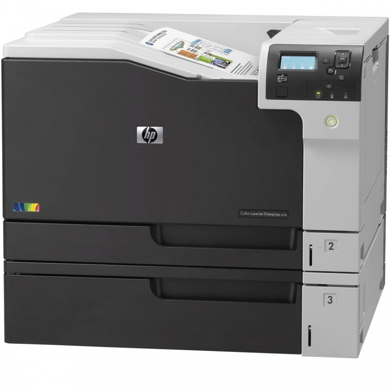 پرینتر لیزری رنگی اچ پی مدل LaserJet Enterprise M750n HP Color LaserJet Enterprise M750n Laser Printer