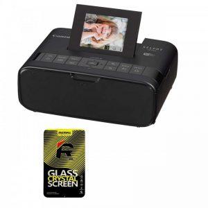 پرینتر چاپ عکس بی سیم کانن مدل SELPHY CP1200 به همراه ۱ عدد محافظ صفحه نمایش Canon SELPHY CP1200 Wireless Photo Printer With1 Sc