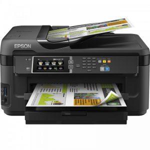پرینتر چندکاره جوهرافشان اپسون مدل WORKFORCE WF-7610DWF EPSON WORKFORCE WF-7610DWF Multifunction Inkjet Printer