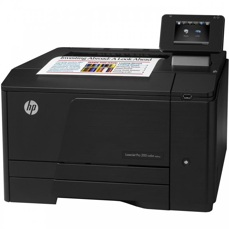 پرینتر رنگی لیزری اچ پی مدل LaserJet Pro 200 M251nw HP LaserJet Pro 200 M251nw Color Laser Printer