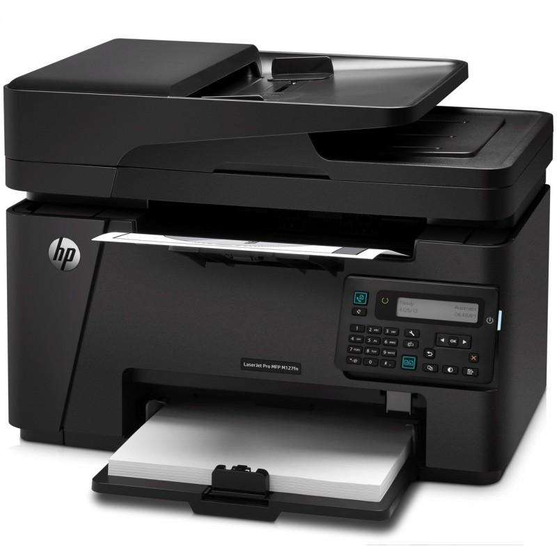 پرینتر چند کاره اچ پی مدل LaserJet Pro MFP M127fn HP LaserJet Pro MFP M127fn Multifunction Laser Printer