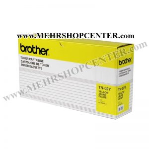 کارتریج تونر برادر (زرد) Brother TN-02Y