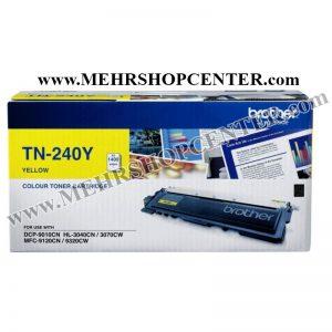 کارتریج تونر برادر ( زرد) brother TN-240Y