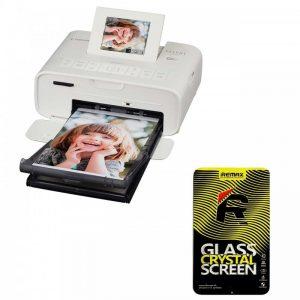 پرینتر بی سیم کانن مدل SELPHY CP1200 به همراه ۱ عدد محافظ صفحه نمایش Canon SELPHY CP1200 Wireless Printer With1 Screen Protector