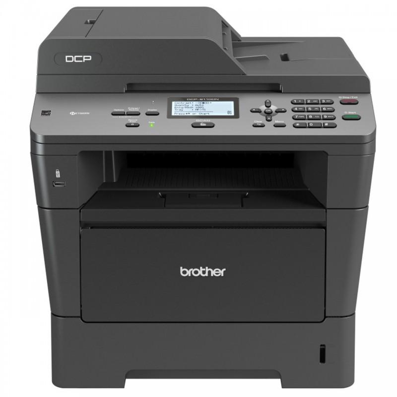 پرینتر چندکاره لیزری برادر مدل DCP-8110DN Brother DCP-8110DN Multifunction Laser Printer