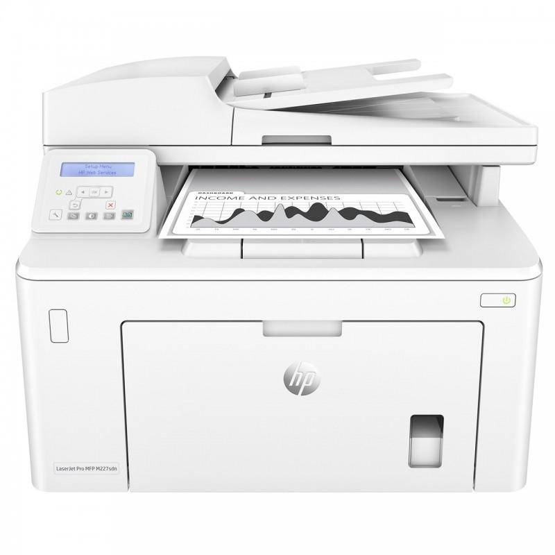 پرینتر چندکاره لیزری اچ پی مدل LaserJet Pro MFP M227sdn HP LaserJet Pro MFP M227sdn Laser Printer