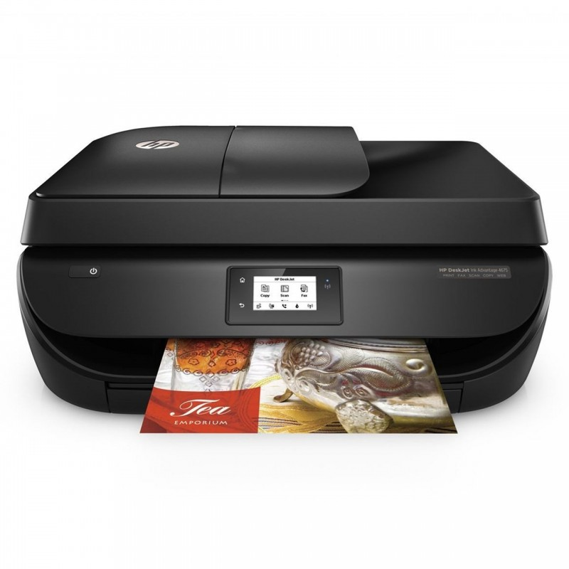 پرینتر چندکاره جوهرافشار اچ پی مدل DeskJet Ink Advantage 4675 HP DeskJet Ink Advantage 4675 Inkjet Printer